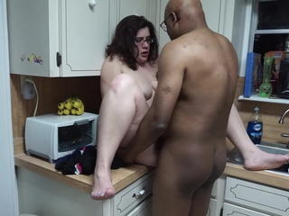 Neil Helping Me in the Kitchenette Last Night Sex Tubes