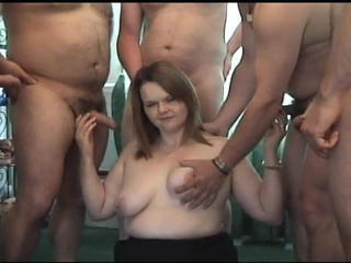 Amateur Chubby Gangbang Swingers Wife