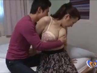 Asian Big Tits Family Japanese  Mom Old and Young