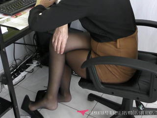 Dangling - MILF at make believe nearly high heels - Vends-ta-culotte Sex Tubes
