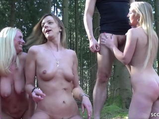 Dirty Tina and Kacy Kisha in German Outdoor Group Sex Sex Tubes