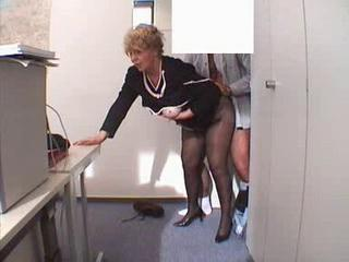 Amateur Mature Office Secretary