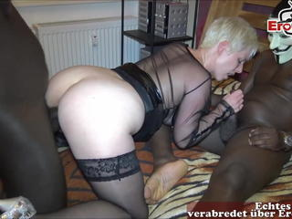 German mother DP homemade 2 monster black cocks real mom sex Sex Tubes