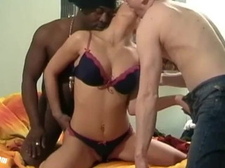 Teen Anna first BBC, she was totally surprised