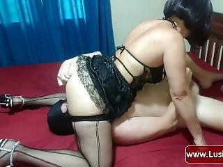 Ass Facesitting Femdom Licking Slave