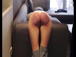 The Moust Brutal Homemade Spanking Video Made By Me