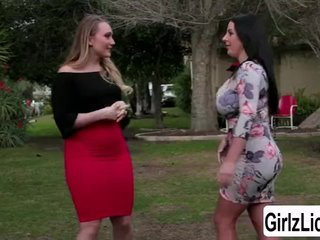 AJ Applegate tour Angela White in slay rub elbows with house and have some fun in slay rub elbows with bedroo