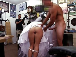 Xxx Pawn - Bitter Bride Fucks Pawn Shop Owner After The Con Cheats