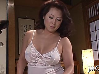 Beautiful japanese mature sweetie neko ayami gets bared
