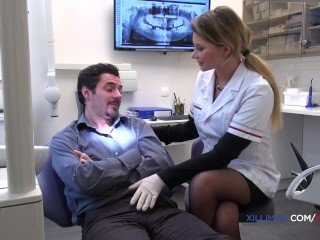 Jessie Volt naughty dentist gets fucked in anal
