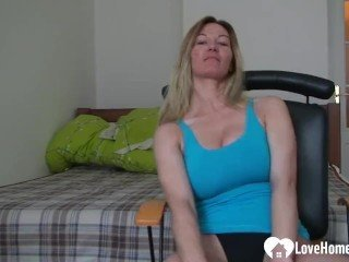 Amateur Masturbating Wife