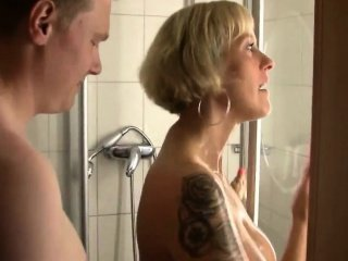 Family Mature Mom Old and Young Showers