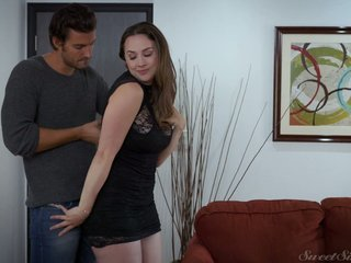 Full natural curvy milf Chanel Preston is making love nearby her far-out admirer