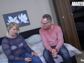 Amateur Chubby European German Wife