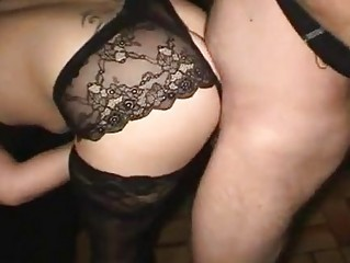 Amateur Doggystyle Gangbang Hardcore Panty Stockings Wife