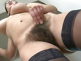 Hairy  Pussy Stockings