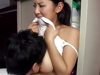 Asian Big Tits Japanese Mom Old and Young Wife