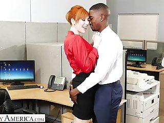 Amazing Interracial  Office Secretary
