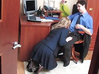 Blowjob  Office Russian Secretary