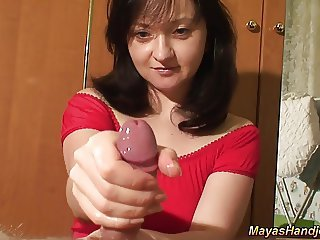 Handjob Homemade Wife