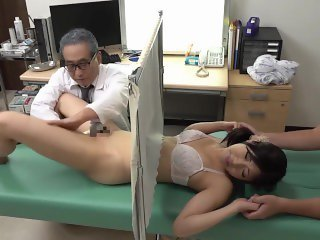 Asian Doctor Japanese Threesome Uniform Wife