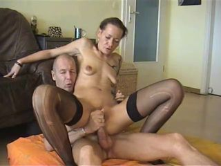 Amateur Older Riding Stockings Wife