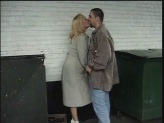 Kissing Mature Outdoor