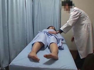 Doctor abusing young shy patient 01