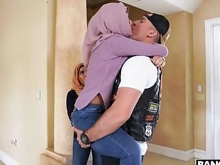Bootyful Hijab Lady Violet Myers Is Fucked Rear End So Darn Flawless