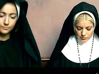 Sinfully Beautiful Stunner Charlotte Stokely Gets Proclaim With Two Fucky-fucky-starved Nuns