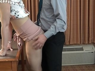 Arse-fucking The Fresh Assistant With My Big Dick