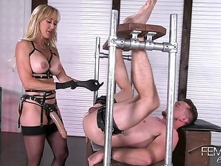 Mistress Brandi Love Fucks Say no to Marionette Wi - Brandi Love