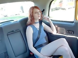 Yankee Red-haired Fucks Give Uk Cab