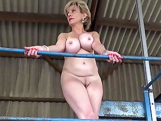 Daughter Sonia strips out of her get off b write down public